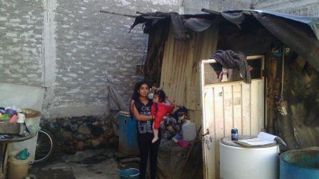 Familia elegida para apoyo de vivienda