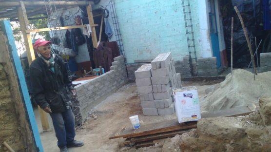 Apoyo con la construcción de un cuarto